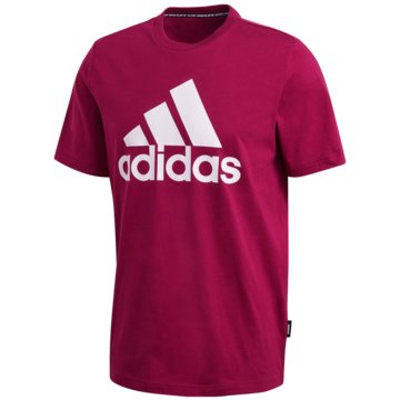 adidas T-ShirtsMH BOS TEE - FT0094 rot