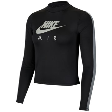 Nike SweatshirtsNike Air Women's Long-Sleeve Midlayer Running Top - CU3331-010 -