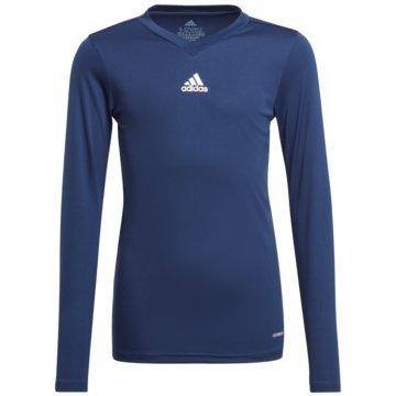 adidas FußballtrikotsTEAM BASE LONGSLEEVE - GN5712 blau