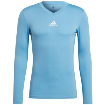 adidas FußballtrikotsTEAM BASE LONGSLEEVE - GN7507 blau