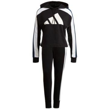 adidas TrainingsanzügeSportswear Big 3 Bar Logo Tracksuit Women -