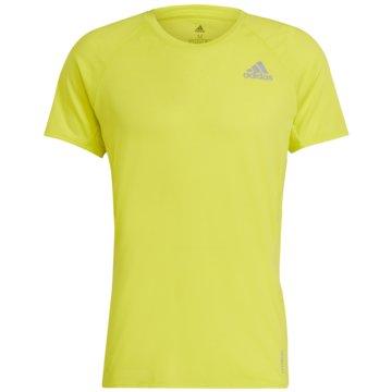 adidas T-ShirtsRUNNER T-SHIRT - GJ9885 gelb