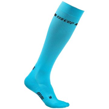 CEP Kniestrümpfe NEON SOCKS, NEON YELLOW, WOMEN - WP20G blau