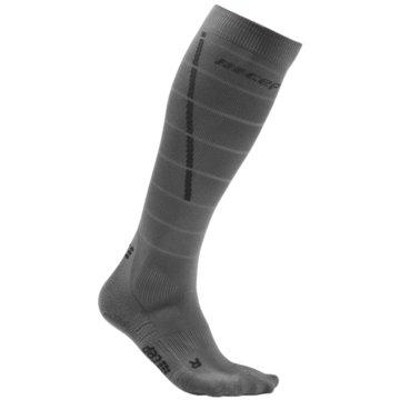 CEP KniestrümpfeReflective Compression Socks grau