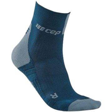 CEP Hohe SockenCompression Short Socks 3.0 blau