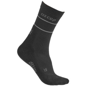 CEP Hohe SockenReflective Compression Mid Cut Socks Women schwarz