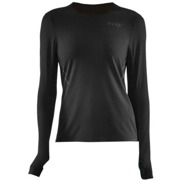 CEP Langarmshirt RUN SHIRT - W0A36 schwarz
