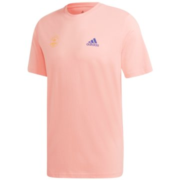 adidas T-ShirtsSNACK PHOTO TEE - GE4665 rosa