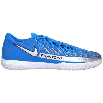 Nike Hallen-SohleREACT PHANTOM GT PRO IC - CK8463-400 blau