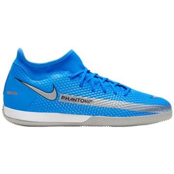 Nike Hallen-SohlePHANTOM GT ACADEMY DYNAMIC FIT IC - CW6668-400 blau