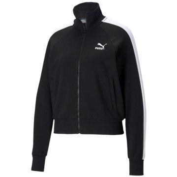 Puma SweatshirtsICONIC T7 TRACK JACKET TR - 530078 schwarz