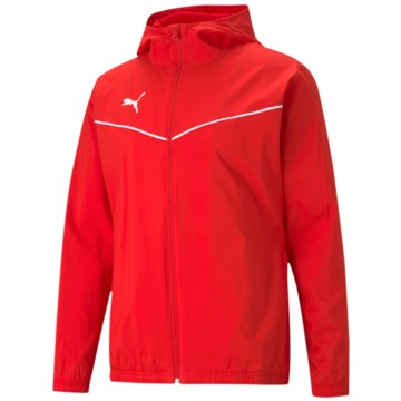 Puma ÜbergangsjackenTEAMRISE ALL WEATHER JACKE - 657396 rot