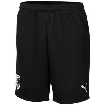 Puma FußballshortsOEFB AWAY SHORTS REPLICA - 759823 schwarz