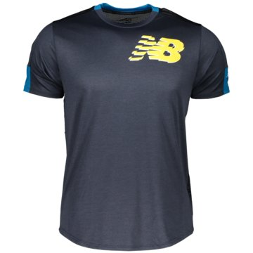 New Balance T-ShirtsPR FST FLGHT SS - MT11241_BYU blau