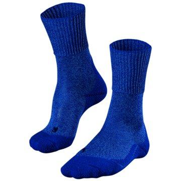 Falke Hohe SockenTK1 WOOL DAMEN SOCKEN - 16385 blau
