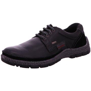 Longo Komfort Schnürschuh schwarz