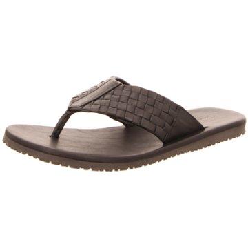 The Sandals Factory Zehentrenner schwarz