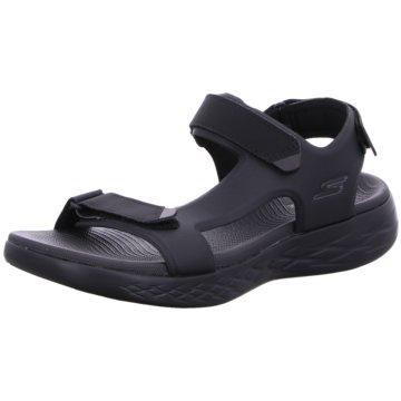 Skechers Komfort Stiefel schwarz