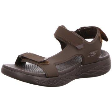 Skechers Komfort Sandale braun
