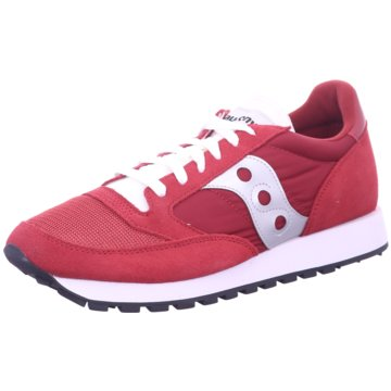 Saucony Sneaker LowJazz Original Vintage rot