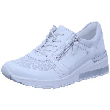 Waldläufer Komfort SchnürschuhSneaker weiß