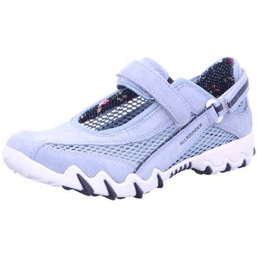 Allrounder Komfort Slipper blau