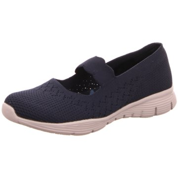 Skechers Komfort Slipper blau