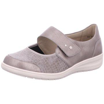 Solidus Komfort Slipper grau