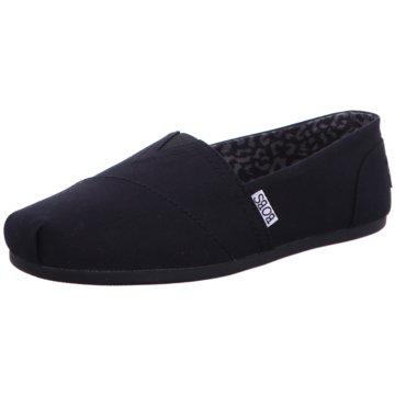 Skechers Espadrille schwarz