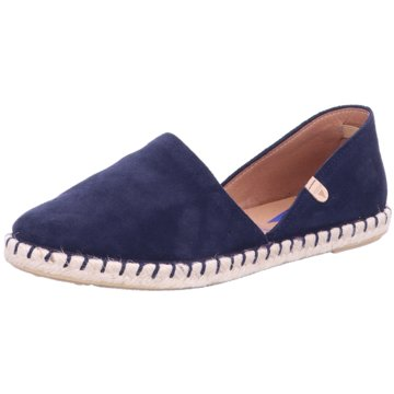 Verbenas Top Trends Slipper blau