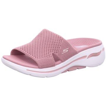 Skechers Badelatsche rosa