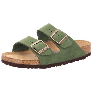 Birkenstock Klassische Pantolette grün