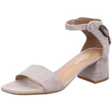 Alpe Woman Shoes Riemchensandalette grau
