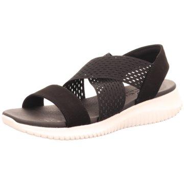 Skechers Komfort Sandale schwarz