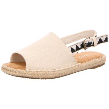 TOMS Top Trends SandalettenClara beige