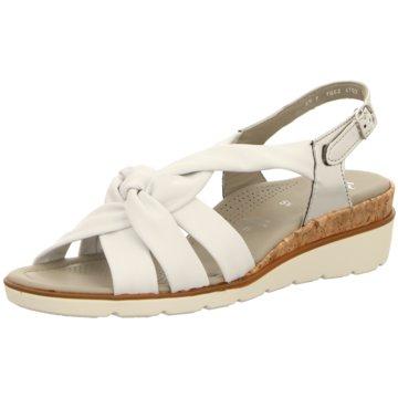 ara Komfort Sandale weiß