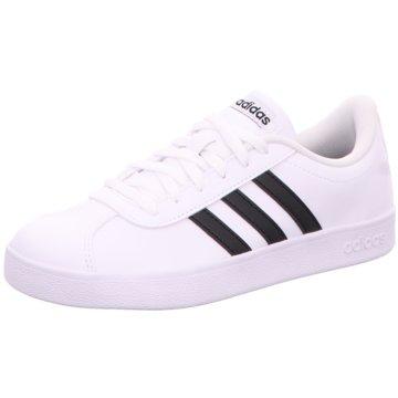 adidas Sneaker LowVL COURT 2.0 K - DB1831 weiß