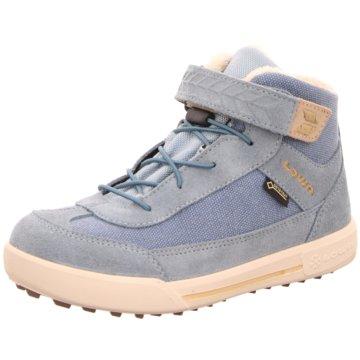 LOWA Halbhoher Stiefel blau