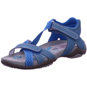 Legero Trekkingsandale blau