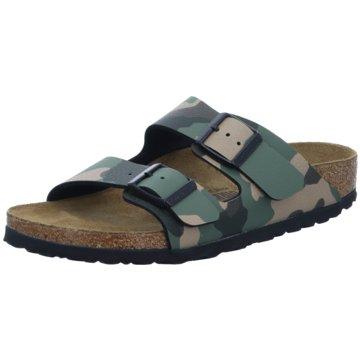 Birkenstock Offene Schuhe grün