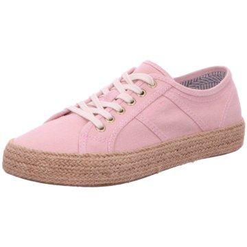 Gant Espadrilles Schnürschuhe pink