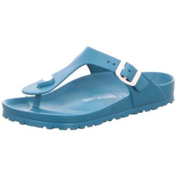 Birkenstock Bade-Zehentrenner blau