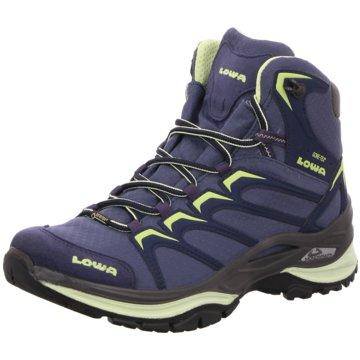 LOWA Hikingschuhe blau