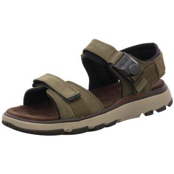 Clarks Komfort Schuh oliv