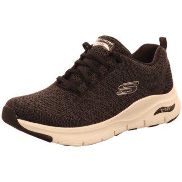 Skechers Sneaker LowArch Fit schwarz