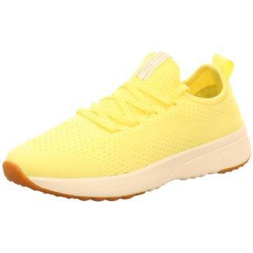 Marc O'Polo Sneaker gelb