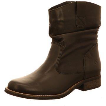 Online Shoes Westernstiefelette schwarz