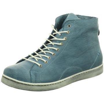 Andrea Conti Komfort StiefeletteAirfit blau