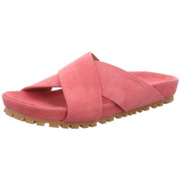 Marc O'Polo Klassische Pantolette rosa