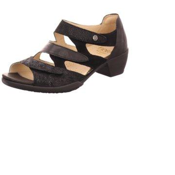 Fidelio Bequeme Sandalen schwarz